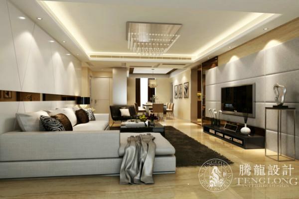 浅水湾花园公寓户型装修设计参考方案展示,腾龙设计师祝炯作品,欢迎品鉴!