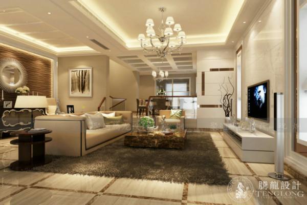 莫奈庄园230平别墅户型装修设计欧式风格,聚通集团腾龙设计师祝炯作品,欢迎品鉴!