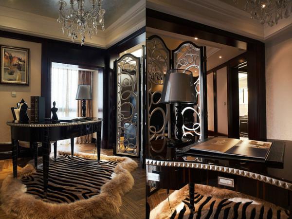 【高清】180平三居欧式时尚之家 成都高度国际装饰设计 九龙仓御园怎么装修