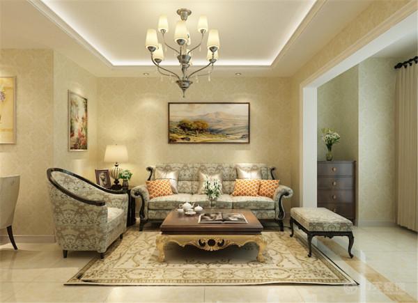 本案为天山定鼎轩3室2厅2卫1厨120㎡的户型。这次的设计风格定义为简美主义风格。