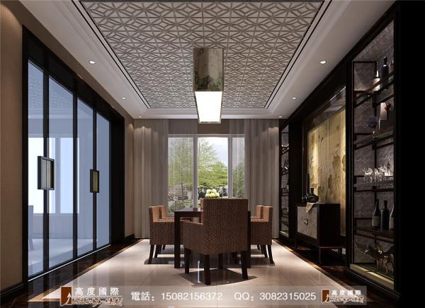 蔚蓝卡地亚餐厅细节效果图---高度国际装饰设计