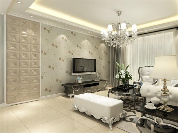 本户型位于风荷园三室两厅一厨两卫 140.4平米。本次的设计风格是欧式风格
