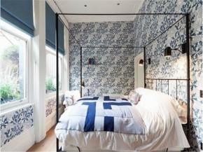现代 小清新 文艺范 卧室图片来自北京精诚兴业装饰公司在文艺青年的小清新公寓住宅的分享