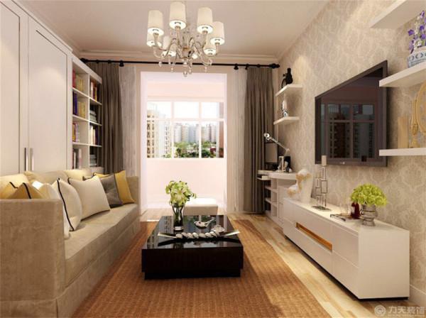 此户型是同安新里一室一厅一卫一厨75㎡的户型。此户型使用了后现代风格设计。