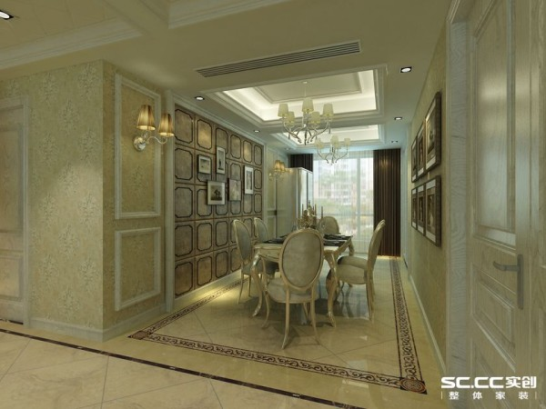 餐厅 温暖的色调 典雅的家具 明亮的落地窗 让你在浪漫中度过一顿丰富的晚餐。