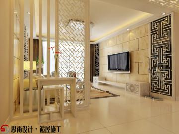 《白雪藏荷》扬州200平现代中式
