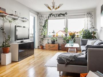80平米自然风公寓 美如风景画