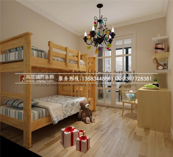 【高清】红树湾  现代简约风格 儿童房