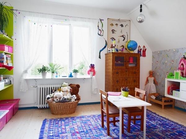 缤纷色彩让人有好心情,如果你是个热情如火的屋主,要让家里呈现活泼又欢乐的多彩风格,不只是改变墙壁颜色,还能从材质下手。