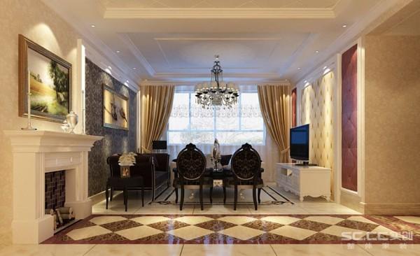 在黑色的奢华壁纸的衬托下来展现低调的品味,两边的茶色车边镜也很突显豪华的气质,在低调的华丽中透漏着奢华,在豪华中表现着低调