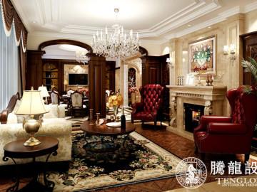 乔爱别墅装修欧式新古典风格
