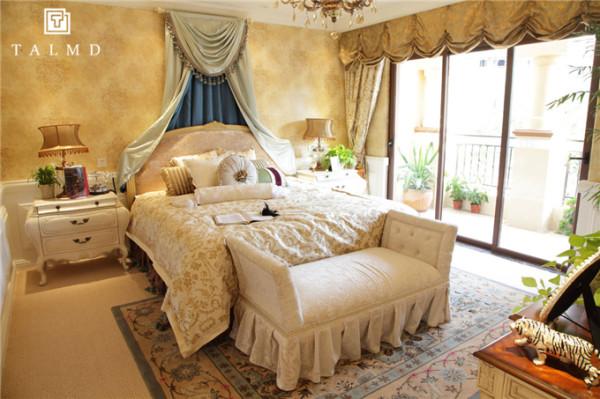 欧式别墅家具整屋定制四居室卧室