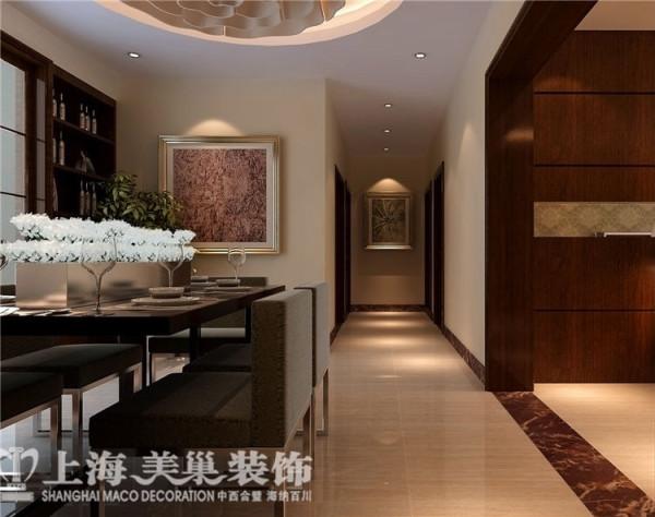 丰庆华府142平三室两厅现代简约走道布局装修样板间