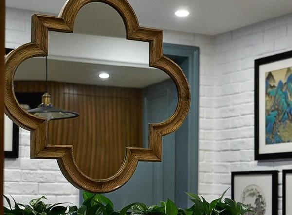 镜子装饰墙面