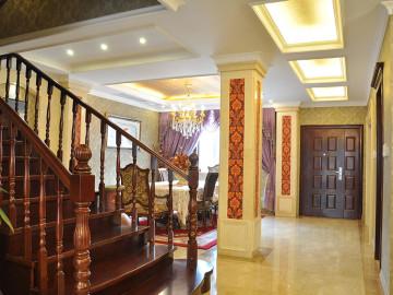 半山丽墅—浪漫的欧式别墅设计