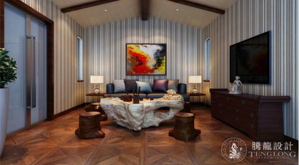 大唐别墅300平户型美式风格设计方案展示,腾龙别墅设计师周灏作品,欢迎品鉴!