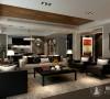 仁恒河滨450平别墅现代风格设计