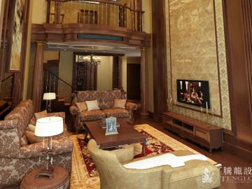 万源城250平别墅美式风格设计