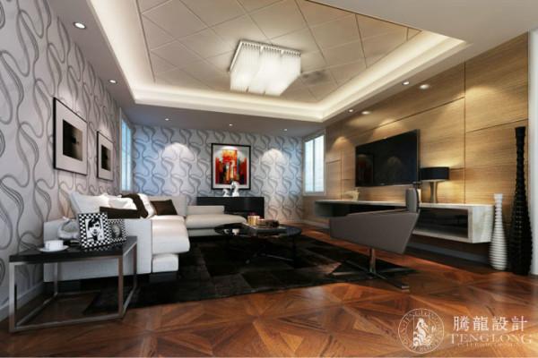 大唐别墅270平现代风格设计方案展示,腾龙别墅设计师周灏作品,欢迎品鉴!