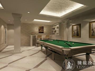 梧桐城邦330平别墅法式风格设计