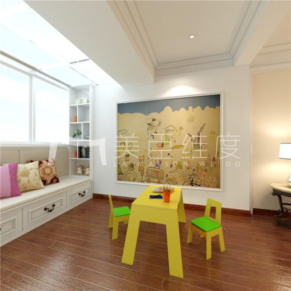 专门小孩子的玩乐空间,卡哇伊的摆设和童真的壁画都是不可或缺的部分。