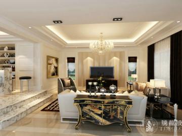 莫奈庄园230平别墅现代风格设计