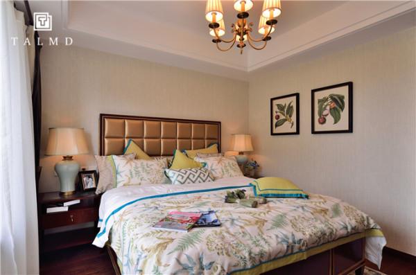 美式混搭休闲风家具定制整屋定制卧室