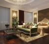 绿地国际三房欧式新古典设计