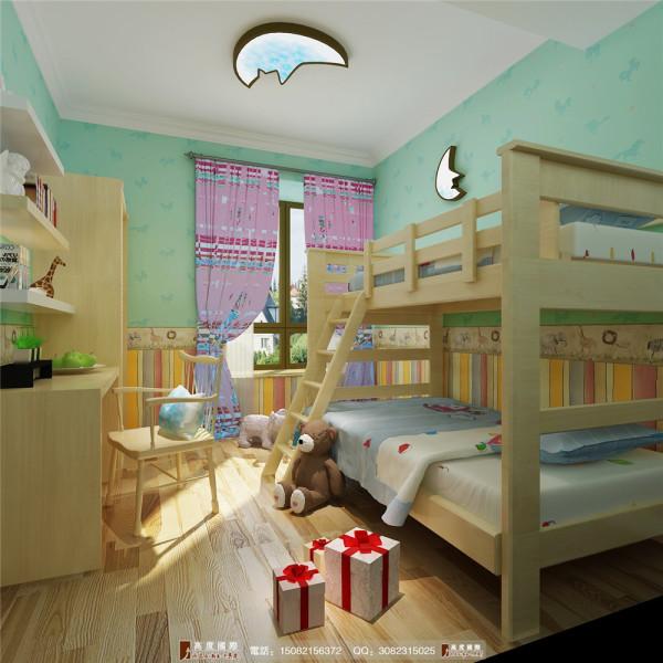 桐梓林儿童房细节效果图----高度国际装饰设计