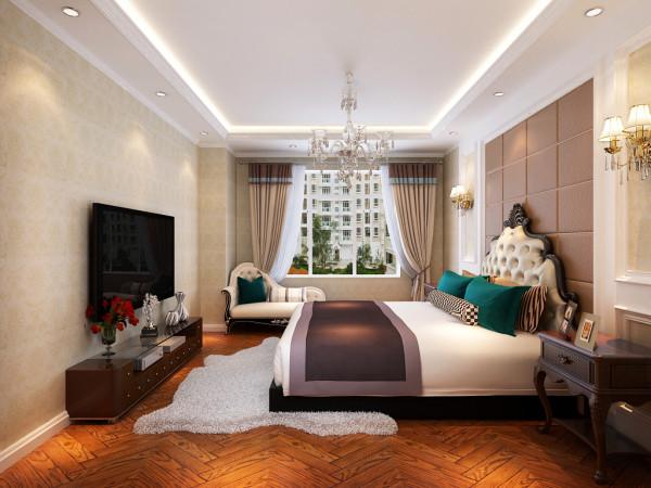 生活家装饰---龙泽苑小区三居简欧风格卧室装修效果图