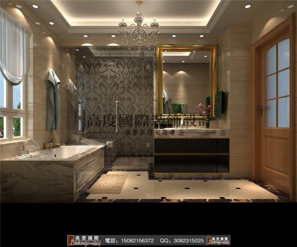 雍湖湾卫生间细节效果图----高度国际装饰设计