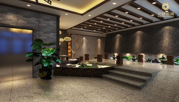 火锅店门厅