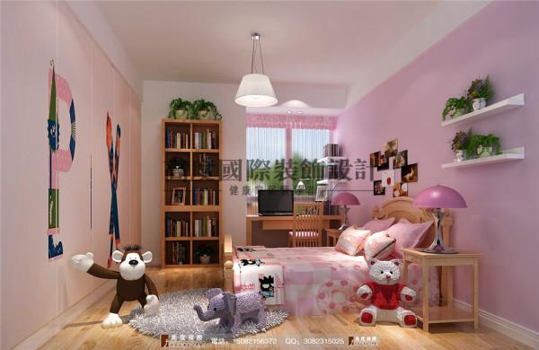 中德英伦城邦儿童房细节效果图----高度国际装饰