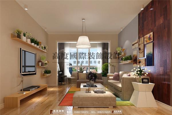 中德英伦城邦客厅细节效果图----高度国际装饰