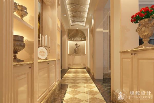 仁恒河滨229平别墅户型装修欧式风格设计方案展示,腾龙别墅设计师戴健作品,欢迎品鉴!