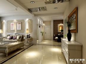 三居 简欧 140平 客厅 卧室 餐厅 厨房 玄关 走廊 其他图片来自实创装饰晶晶在137平简欧三居舒适惬意小家的分享
