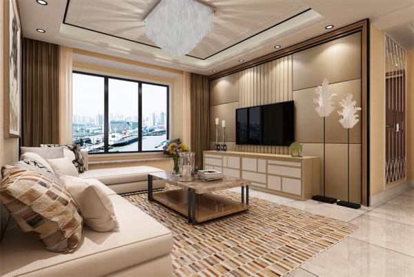 该方案是津南新城三室两厅一厨两卫115.3的一个户型。业主是一个四十岁的工薪小白领,喜欢暖黄色调,颜色不要太过艳丽,在整体风格的选择上选择现代风格