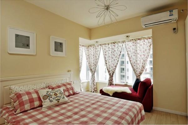 保利花园毛坯房实创装修的,温馨卧室