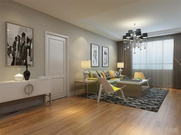 如橙色等暖色调表现家居的温暖;红、黄、蓝、绿等相对跳跃艳丽的色彩提升感观刺激。通过玻璃、金属材料、钢结构等来拓宽视觉感及表现光与影的和谐。