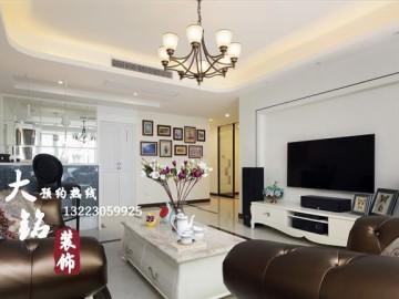 140平米三居室新古典风格设计