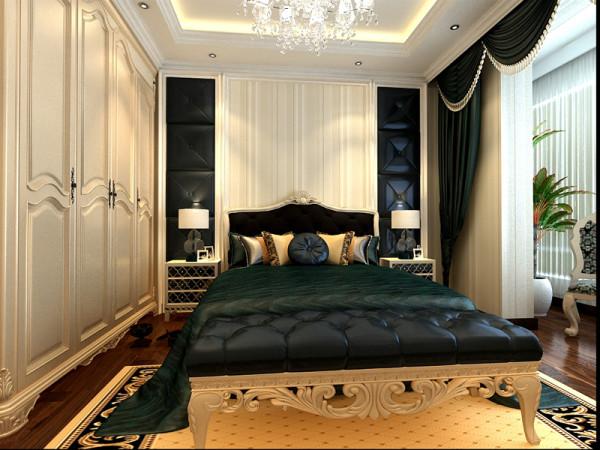 生活家装饰--白领公寓130平米三居欧式风格卧室装修效果图