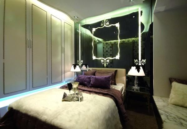 生活家装饰--山语城180平米三居地中海风格卧室装修效果图