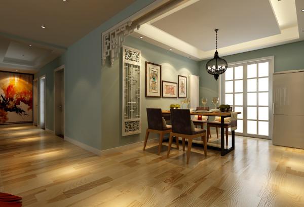 整个空间还运用了一些传统中式的花边,但是经过设计现代的手法处理,并没有中式风的的呆板,反而成为了整个餐厅的一大亮点。