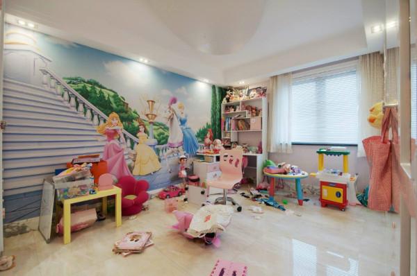 生活家装饰--国风上观200平米四居简欧风格儿童房装修效果图
