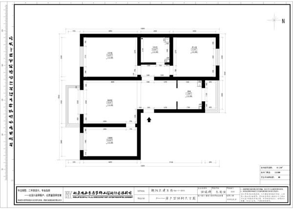 本套美式设计师在设计时,硬装方便的造型比较简洁,主要在色彩搭配方面运用黄色、白色、等色系作为本套美式风格主要色系,并且主要是表现在家具设品和墙面涂料的色彩选择上