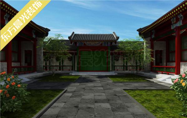 四合院建筑历史悠久,也是中国古建筑的一大亮点,就是这样的一个院子设计,承载着多少高深的中式传统文化,囊括了多少精湛的装修设计技法,融合多少家庭所追寻的和睦安宁的梦。