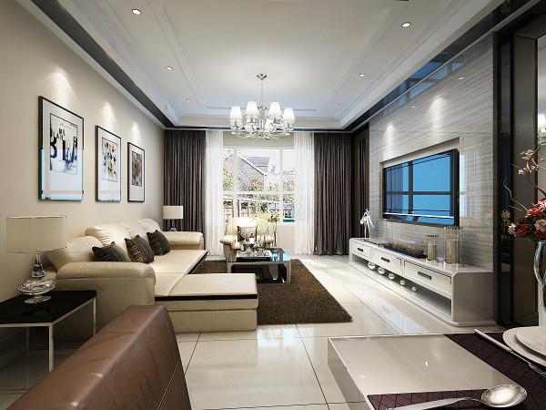 简约 三居 白领 收纳 80后 小资 装修 家装 实创装修 客厅图片来自