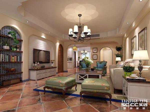 设计中将这些特点表现的恰到好处。简单,白净的吊顶以及墙面。家居装饰主要以原木为主。蓝色可以使人安静下来。蓝色的踢脚线给人一种活泼的感觉
