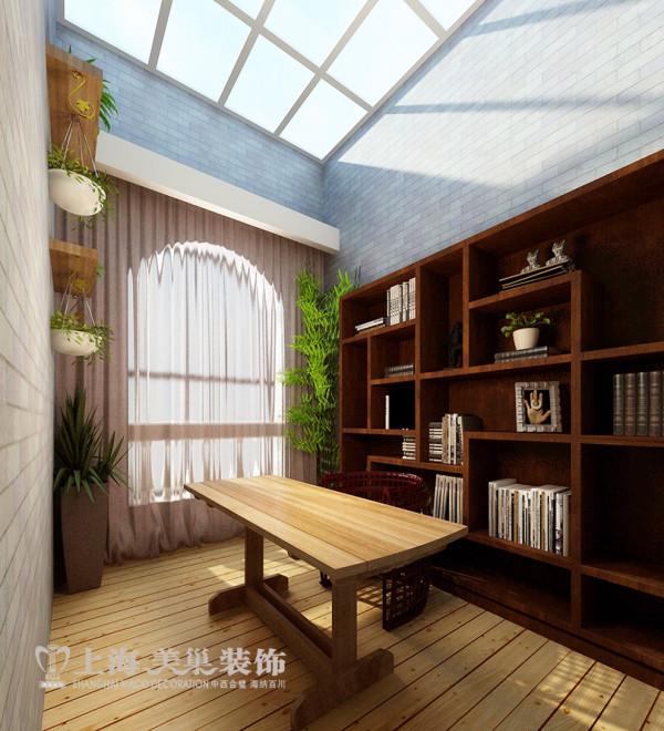 民安北郡四居室新中式装修效果图——休闲室