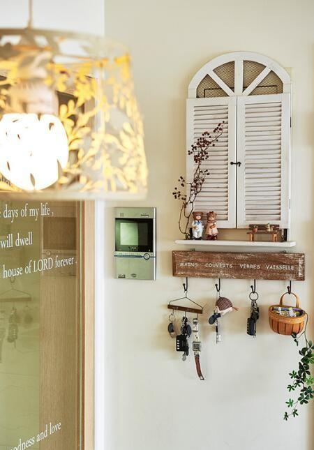 【高清】天鹅堡甜蜜日式乡村婚房 成都高度国际别墅装饰设计 玄关装修设计 成都装修公司
